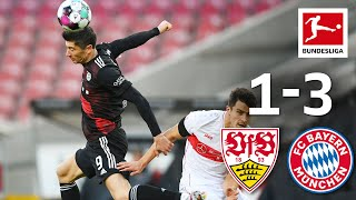 Bayern Extends Record Start! | Stuttgart - Bayern 1-3 | Highlights | MD 9 – Bundesliga