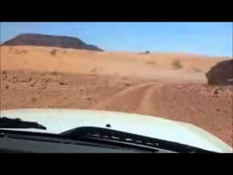 a Drive through Wadi Araba