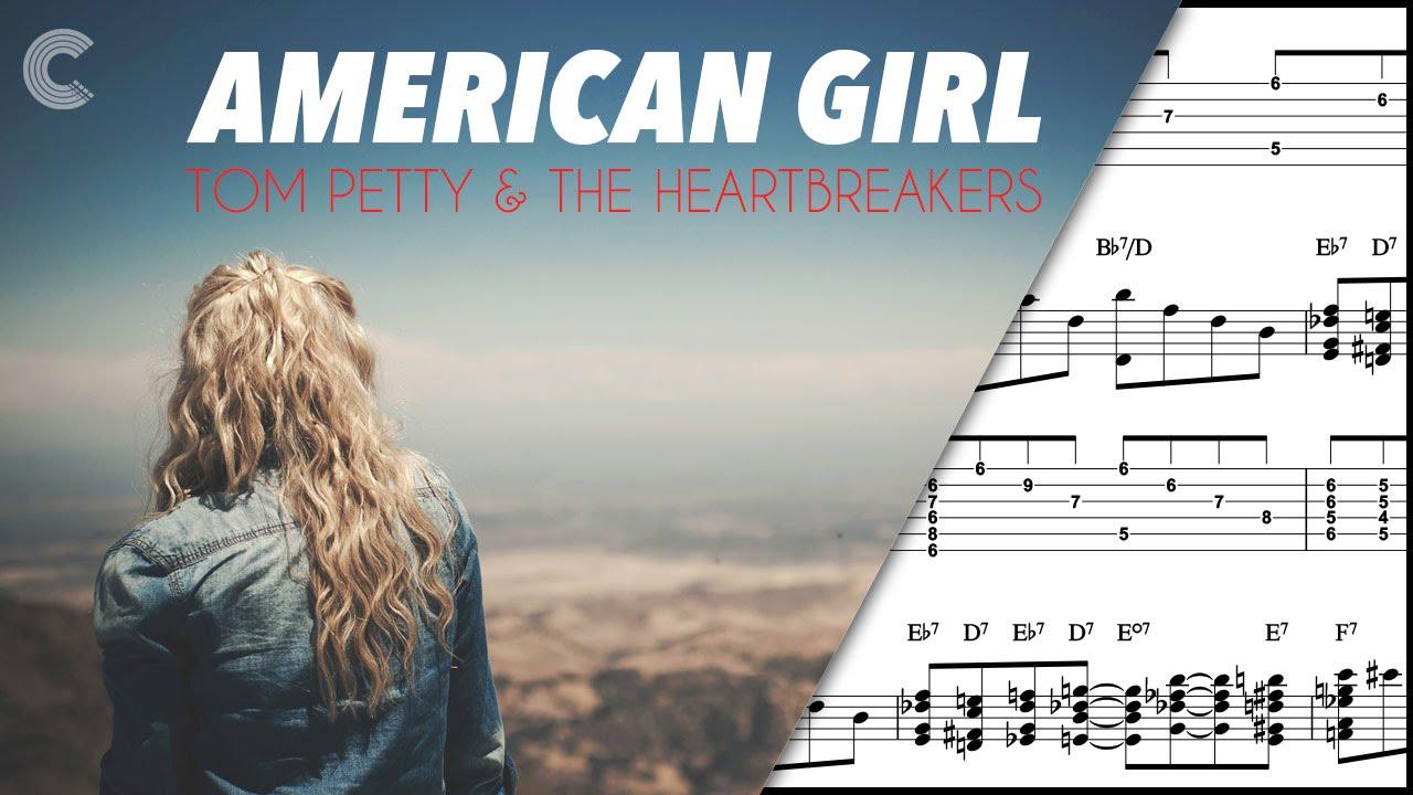 Piano american girl tom petty and the heartbreakers sheet piano american girl tom petty and the heartbreakers sheet music chords vocals youtube hexwebz Gallery
