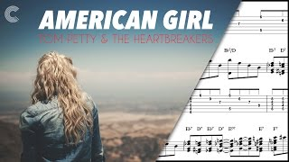Piano - American Girl - Tom Petty and the Heartbreakers - Sheet Music, Chords, & Vocals