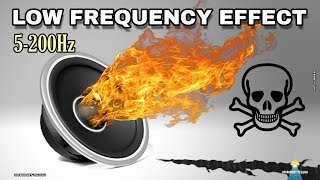 CHECK YOUR SUB WOOFER AND HEADPHONES USING THIS Low Frequency Effect TEST    LFE BASS TEST Speakers