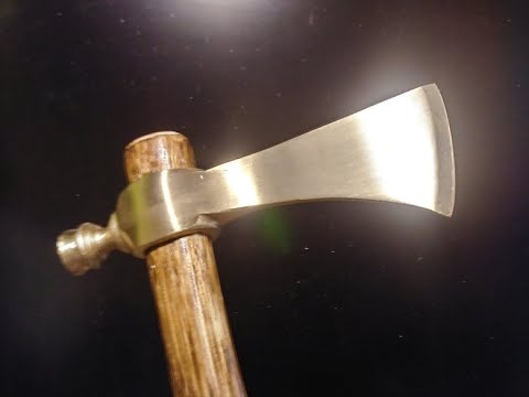 Off-the-Wall Casting Challenge: Aluminum Bronze Pipe Tomahawk!