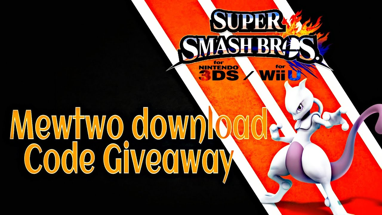 mewtwo code giveaway mewtwo download code giveaway for 3ds wii u youtube 377