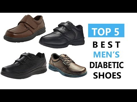Top 5 Best Men's Diabetic Shoes Review 2017