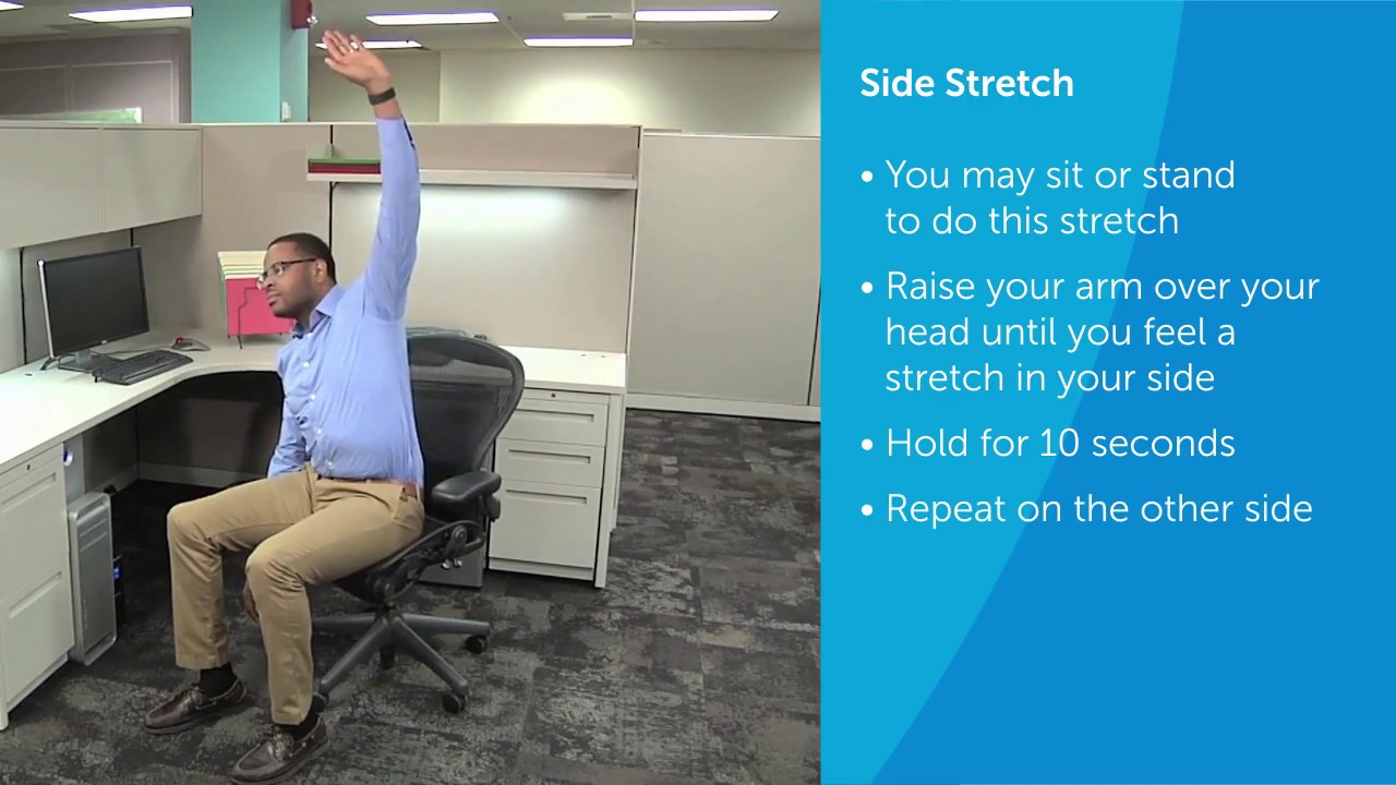 Easy Exercises You Can Do At Your Desk Summa Health