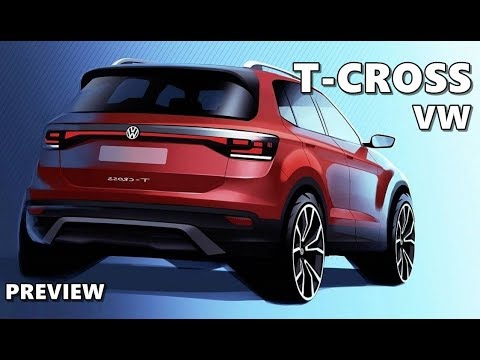 2019 vw t cross preview youtube. Black Bedroom Furniture Sets. Home Design Ideas