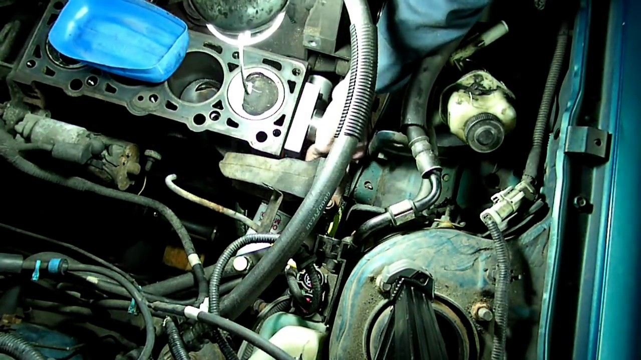 ford escort water pump timing belt replacement youtube ford escort water pump timing belt replacement