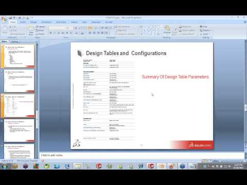 Lunch & Learn - Design Tables and Configurations