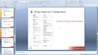 Design Tables And Configurations