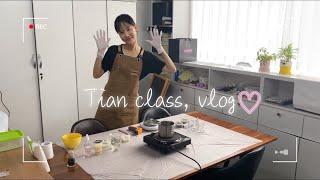 (vlog) 캔들 석고방향제 제작영상/캔들만들기/석고방…