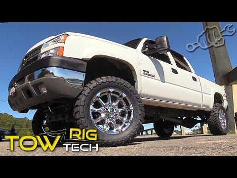 Project Duramax Lift Kit Install - Tow Rig Tech Episode 5