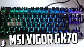 New MSI Vigor GK70 Mechanical Gaming Keyboard