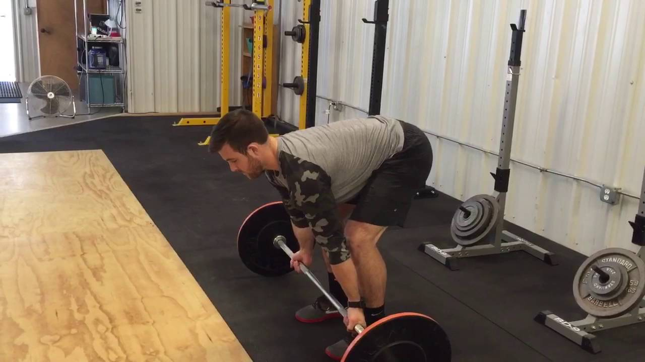 Supinated Barbell Row - YouTube