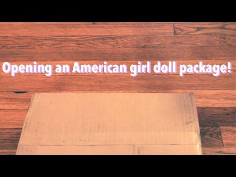 Opening An American Girl Package 📦 (reuploaded)