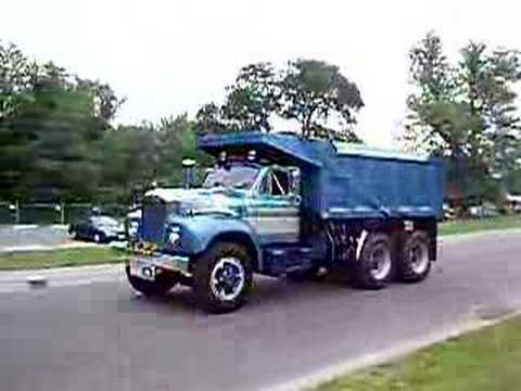 mack b model dump truck youtube Used Mack Dump Trucks Sale mack b model dump truck