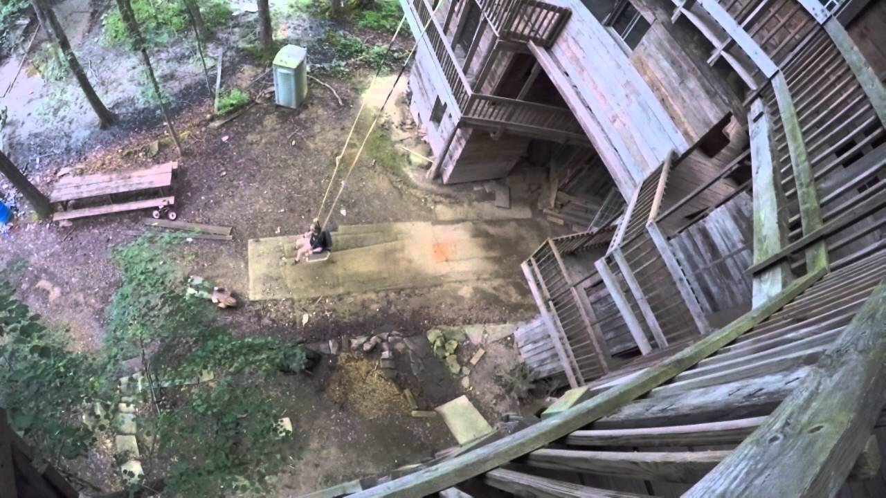 Biggest Treehouse In The World Inside crossville tennessee minister's treehouse - youtube