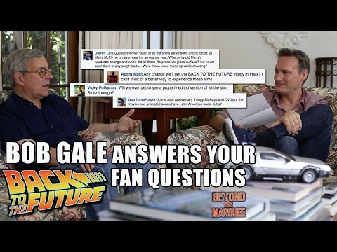 BTTF Q&A with Bob Gale  BTM: The WebSeries Ep.81