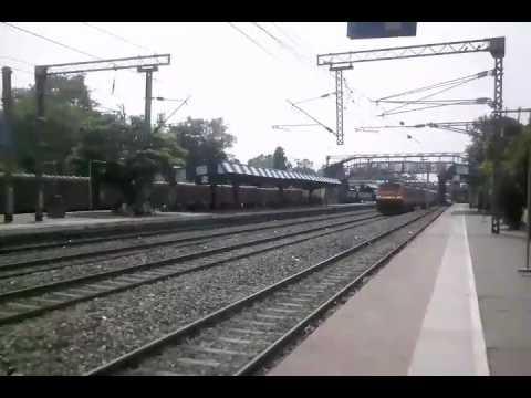 Akal takat crossed Raniganj jn station