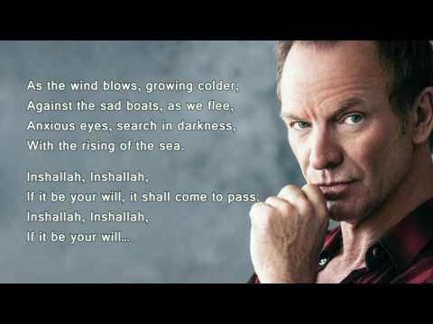 Inshallah - Sting (+ Lyrics)