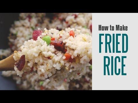 Vietnamese Fried Rice With Chinese Sausage (Cơm Chiên Lạp Xưởng)