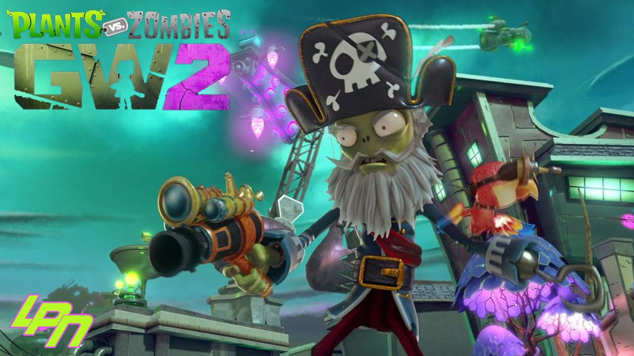 Image result for shark pirate pvz gw 2 gif