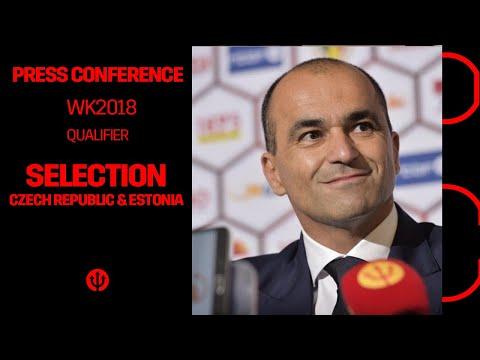 Press Conference | Roberto Martínez | #BelCze #EstBel