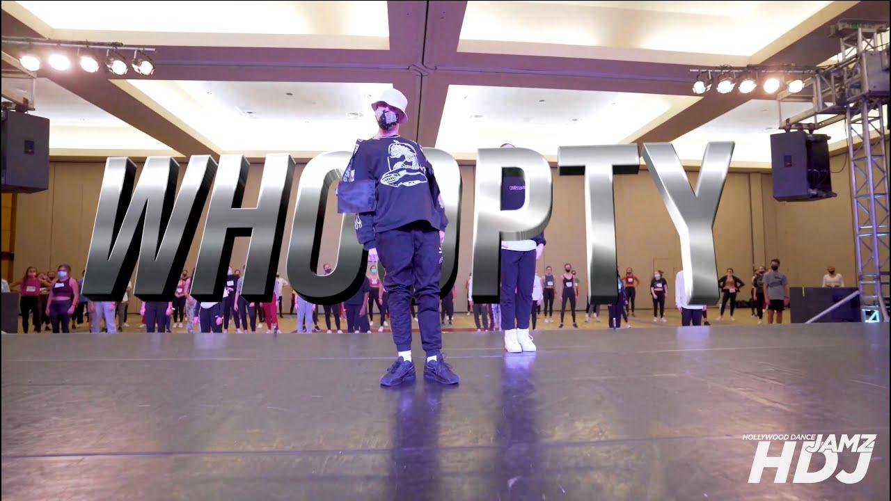 "CJ - ""WHOOPTY"" Choreo by Anze"