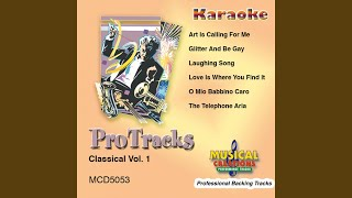Laughing Song (In the Style Of 'Die Fledermaus') (Karaoke Version Instrumental Only)