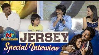 Jersey Movie Team Interview | Nani | Shraddha Srinath | Gowtam Tinnanuri | NTV Entertainment