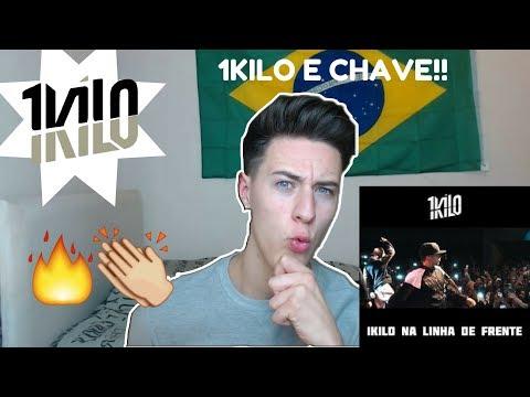 Minha PRIMEIRA Vez Reagindo ao 1KILO!!!! (Na Linha De Frente)!!! REACTION