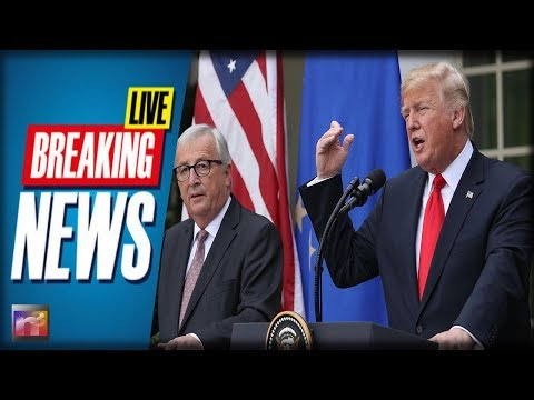HUGE NEWS! European Union KNEELS Before Trump - CRISIS Averted!