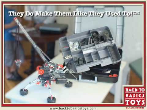 Back to Basics Toys: Erector Set Special Edition