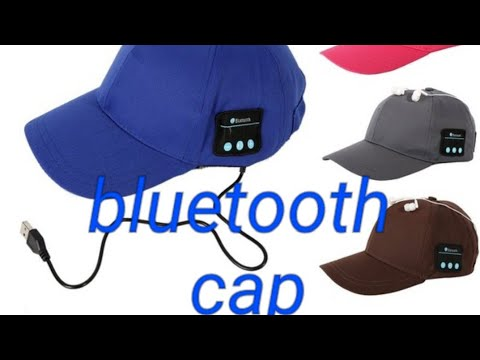 Cap mit integrierten bluetooth Kopfhörern Cap zum Musik hören Wahnsin