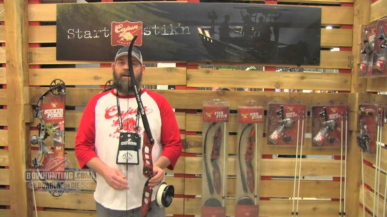 Cajun Bowfishing Fish Stick 2016 Ata Show Youtube