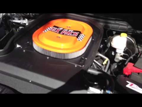 Vararam Intake On 2013 Dodge Ram 1500 Youtube