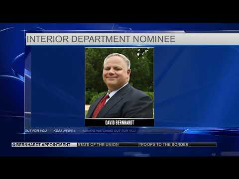 Colorado native nominated to lead Interior Department