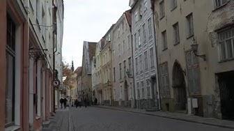 Tältä näyttää Tallinnan kaunis vanhakaupunki