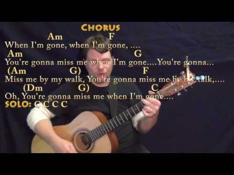 Cups (Pitch Perfect's When I'm Gone) Strum Guitar Cover Lesson with Chords/Lyrics