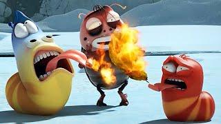 LARVA - BURNING HEAT |  Cartoon Movie | Cartoons For Children | Larva Cartoon | LARVA Official