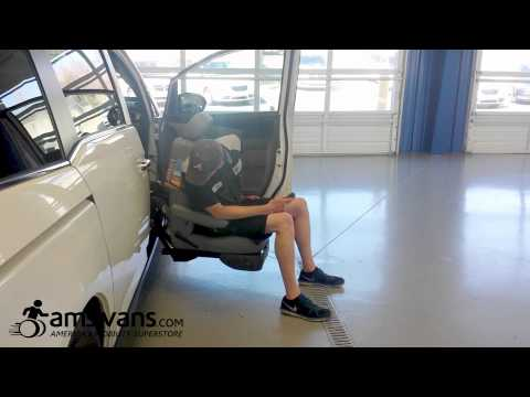 Bruno Valet Turning Seat, Mobility Equipment Demo