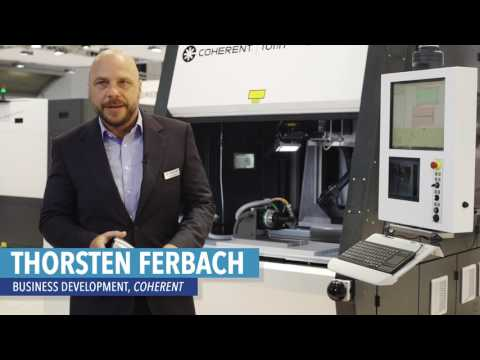Coherent Laser Munich 2017 - Marking, Welding, and Cutting Products