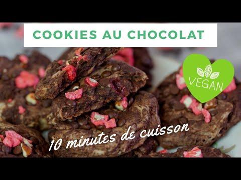 🍪cookies-au-chocolat-(recette-vegan-facile)-|-lundi-vert-n°94