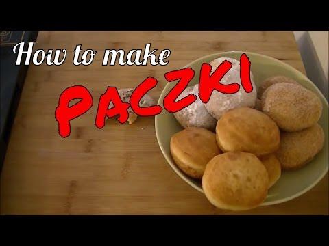 How to make Paczki (polish doughnuts)(Paczki Day)