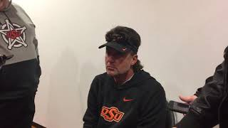 OSU Football: Gundy reacts to Brailford and Hill's departure