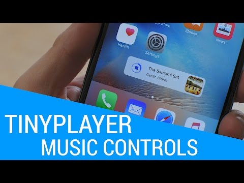 TinyPlayer: control your music from anywhere [Cydia tweak]
