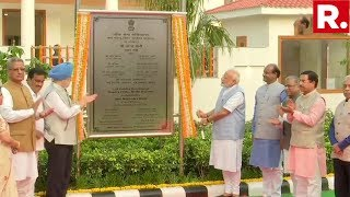 Watch Pm Modiand39s Address From North Avenue New Delhi As He Inaugurates Flats For Mps