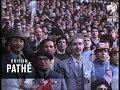 Football Crowd At Wembley 1968