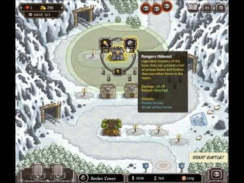 Kingdom Rush E19 Heroic+Iron Challenges Coldstep Mines