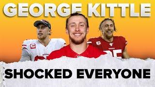 How George Kittle SHOCKED the NFL 💪🏽 | #shorts