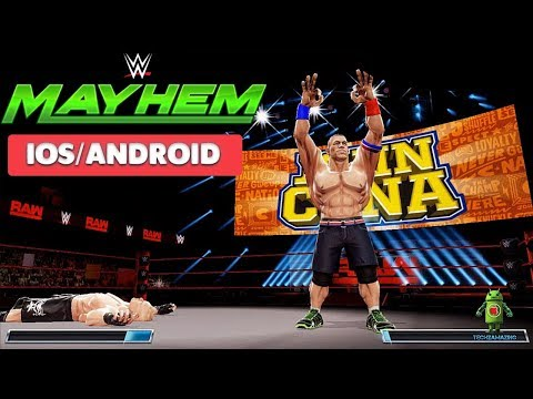WWE MAYHEM GAMEPLAY - ( IOS | Android )